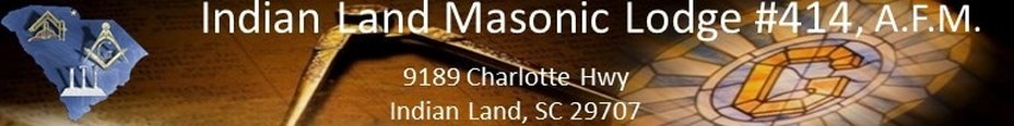 Indian Land Masonic Lodge No.414 A.F.M.<br />Indian Land, SC